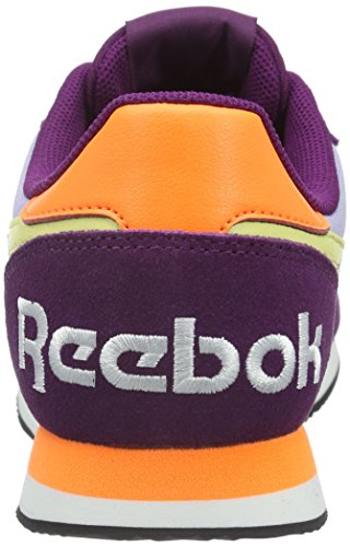 Reebok Royal Classic Jogger 2rs, Baskets Basses Femme Multicolore - Mehrfarbig (Celestial Orch/Violet/Ele Pea/Yel Fil/Blk/Wht)