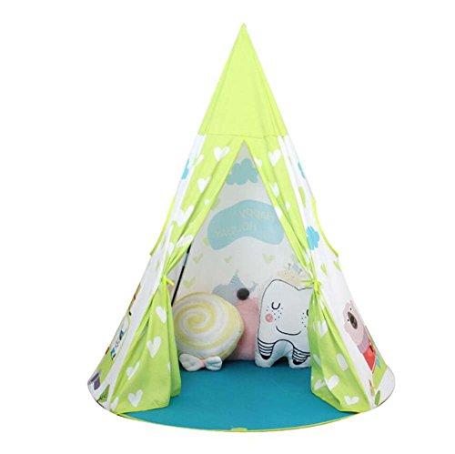 lzeugzelt Kinderzelt Prinzessin Castle Indoor Baby Spielzeug Kleines Haus Infant Play House Geschenk bevorzugt ()