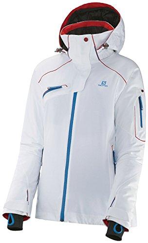 Salomon Damen Speed Jacket M weiß