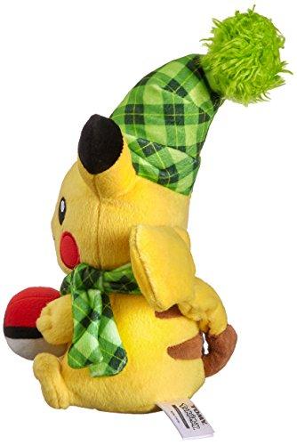 Tomy-t19376d-Pokmon-Sol-y-Luna-Animales-de-Peluche-Pikachu-como-Peluche-Aprox-20-cm-a-Partir-de-3-aos