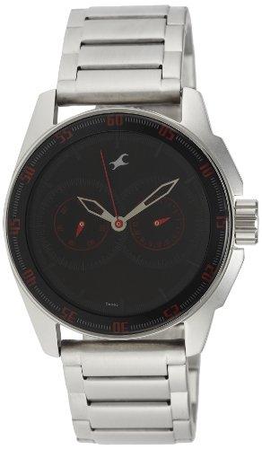 Fastrack Black Magic Analog Black Dial Men's Watch - NE3089SM06 image