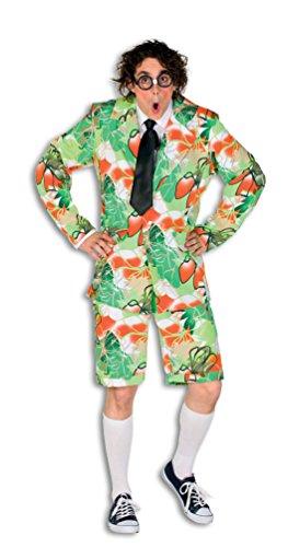 Karneval-Klamotten Nerd Kostüm Herren Streber-Kostüm Junggesellenabschied Kostüm Größe 58