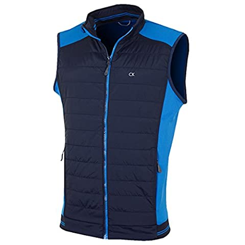 Calvin Klein Golf Mens Gravity Gilet - Chaotic Blue - S