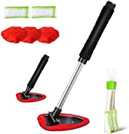 Car Cleaning Tools Kit Vehicles Interior Exterior Windshields Windows Clean with Window Blind Cleaner, 5 PCS M