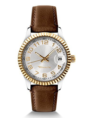 Tamaris Montre Femme Date Marron Debby 35 mm b07312000