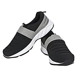 VAO MOCASION COMFORTABLE WALKING SHOES BLACK UK/IND-07 FOR MEN