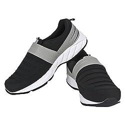 VAO MOCASION COMFORTABLE WALKING SHOES BLACK UK/IND-06 FOR MEN