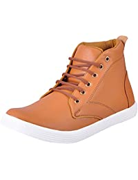 [Sponsored Products]FAUSTO Men's Ankle Sneakers