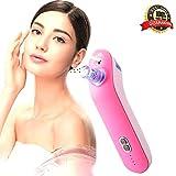 Jingfude Gesicht Maske Maschine Spray mit Feuchtigkeit Versorgt Starke Elektrische Poren Peeling und Resurface Nase Mitesser Akne Remover Skin Care Straffung Salon Instrument USB-Aufladung
