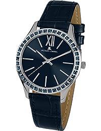 Jacques Lemans Damen-Armbanduhr Rome Analog Quarz Leder 1-1841K