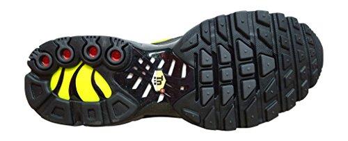 Nike Air Max Plus, Scarpe da Ginnastica Basse Uomo dark grey volt black 093