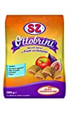Sz - Senza Zucchero Biscotti Ottobrini farciti al Fico Mela - Confezione da 12 Pacchi x 300 G