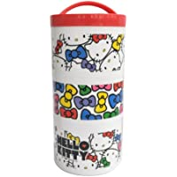 Hello Kitty (face) three-stage type bottle lunch box LRT3 (japan import)