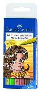 Faber-Castell Manga Kaoiro Wallet Set