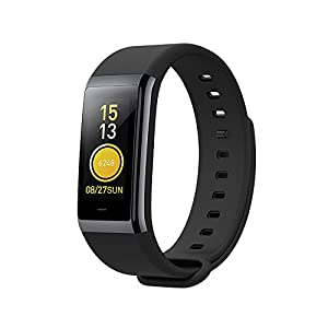 'Fitness Tracker, Xiaomi Cor Activity Tracker with Heart Rate Sleep Monitor, 50 m Waterproof, 1.23 Color Touch Screen, 316L stainless steel frame, 7-Day Weather Forecast Smart Band For Women and men