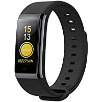 Fitness Tracker, Xiaomi Amazfit Cor Activity Tracker with Heart Rate Sleep Monitor,50m Waterproof, 1.23'' Color Touch Screen, 316L Stainless Steel Frame, 7-day Weather Forecast Smart Band for Women and Men
