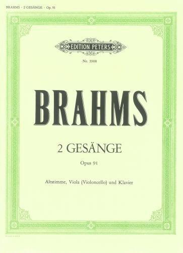 Gesange(2) Op.91