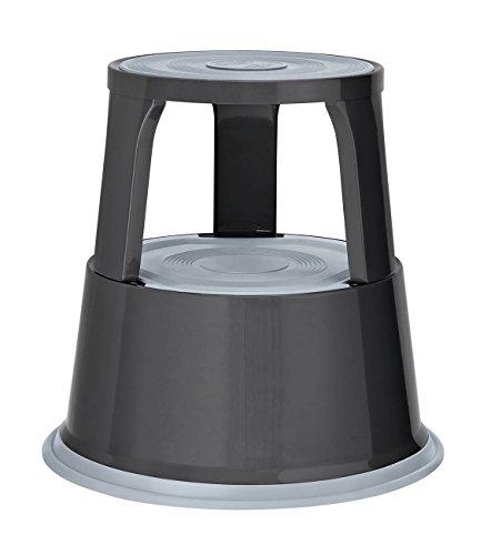 Wedo 212112 Rollhocker (Metall TÜV- und GS-geprüft nach EN 14183-F) grau