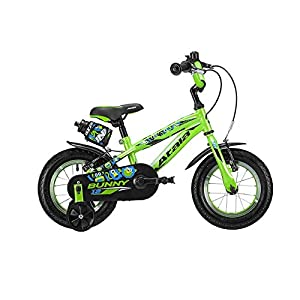 413IWBPOhML. SS300 Atala Bicicletta da Bambino Bunny Boy Modello 2019, Colore Verde-Nero, 1 velocità