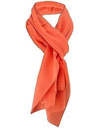 82cde16856d Amazon.fr   Orange - Foulards   Echarpes et foulards   Vêtements