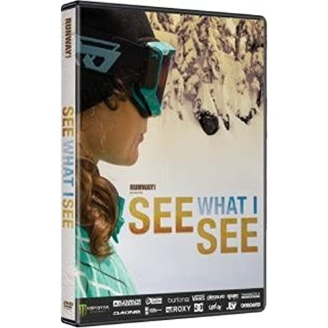 2009 See What I See? DVD - All Female Snowboarding DVD by RUNAWAY FILMS