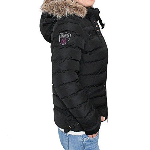 Lonsdale Ladies Winter Jacket Appledore Black