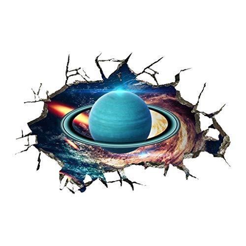 YWLINK Personalidad Espacio De La Pared Rota Planeta
