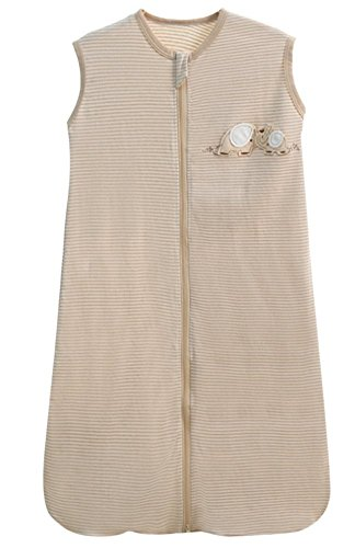 baby schlafsack sommer Frühling mädchen junge schlafanzug baumwolle dünner neugeboren Pyjamas Weiß- 0.5 tog. (90CM (18-36 monate))