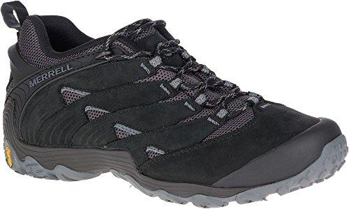Merrell Chameleon 7 Herren Schuhe Sneakers Wanderschuhe Trekkingschuhe J12055 Schwarz (43.5) (Herren Merrell Schuhe-chameleon)