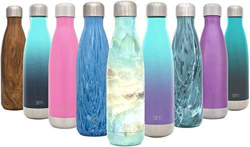 Wave Wasserflasche - Trinkflasche Vakuum Isolierte Doppelwandige 18/8 Edelstahl - Hydro Camelbak Swell Bottle - Reisebecher, Flasche, Sporttrinkflasche - Kumulus ()