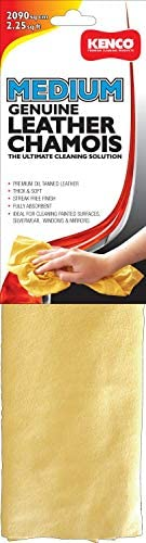 2.25 sq feet genuine oil tanned leather chamois