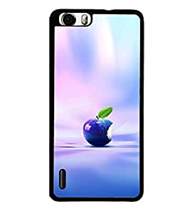 printtech Apple Back Case Cover for Huawei Honor 6 Plus