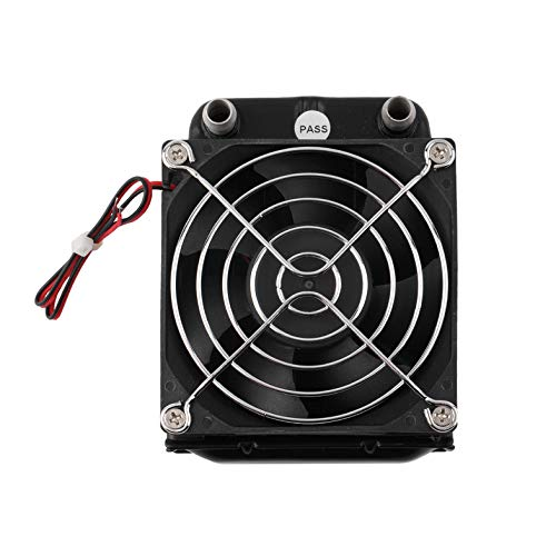 Aluminum 80mm Water Cooling Row with Fan for CPU Durable Cooling System Devices Computer Radiator Compact Heat Exchanger -