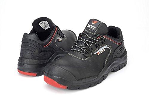 <span class='b_prefix'></span> Samurai 1034304007Pair of Low Shoes Invicta S3CI SRC HRO Hi, Black/Red, 44