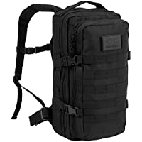 Highlander Military Tactical Assault Backpack – The Recon 20L Waterproof Daysack with Multiple MOLLE Attachment Points for Extra Accessories and Equipment