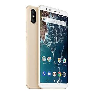 """Xiaomi Mi A2 Smartphones 5.99""""Pantalla Full HD 4 GB RAM + 64 GB ROM Snapdragon 660 Octa Core Dual SIM 20MP frontal + 20MP 12MP Dual Cambra Posterior Mòbils Telèfon (daurat)"""
