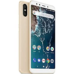 "Xiaomi Mi A2 Smartphones 5.99""Pantalla Full HD 4 GB RAM + 64 GB ROM Snapdragon 660 Octa Core SIM Dual 20MP Frontal + 20MP 12MP Dual Cámara Trasera Móviles Teléfono (Dorado)"