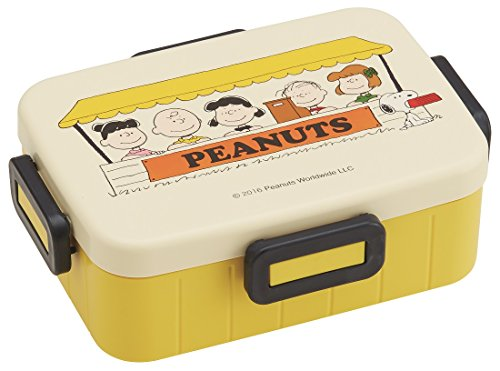 Skater Lunch Box (4 Point Lock) 650ml Snoopy Lunch Time [YZFL7] (Japan Import)