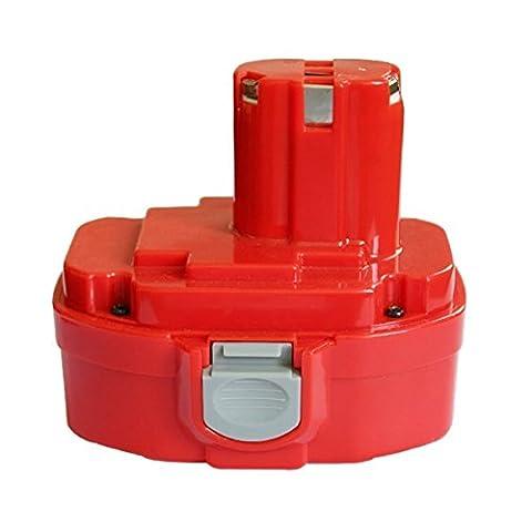 Forrat 18V 3.0Ah High Capacity Ni-MH Battery for Makita PA18 1822 1823 1834 1835 192826-5 192827-3 192829-9 193159-1 193140-2 193102-0 194105-7 Fit for Makita 4334D