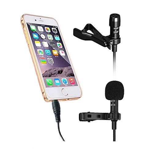 Lavalier Téléphone Microphone Mini Enregistrement Karaoké Téléphone Mobile Microphone Téléphone Portable Chanson Mimi