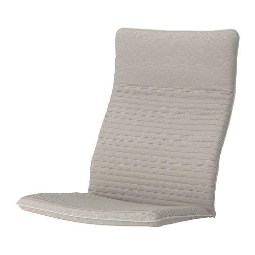 Unbekannt IKEA Polster für Sessel POÄNG Modell KNISA hellbeige abnehmbar und waschbar