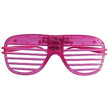 4 Stück sortiert Spaßbrille Partybrille neon NEU Brille Party
