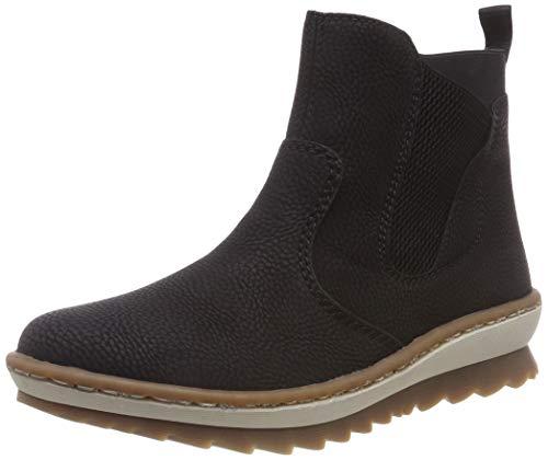 Rieker Damen Z8694 Chelsea Boots, Schwarz (Schwarz 00), 37 EU