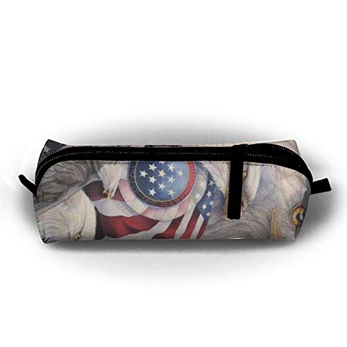 Federmäppchen American Eagle Family Tasche Reißverschluss-Etui Stifthalter Veranstalter Make-up Tasche -
