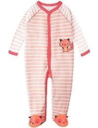 EOZY Mignon Combinaison Grenouillère Pyjama Bébé En Coton Motif Animal