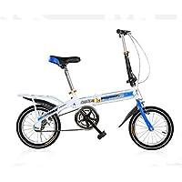 MASLEID Bicicletas plegables para niños los niños de 7-15 años de edad bicicleta ,