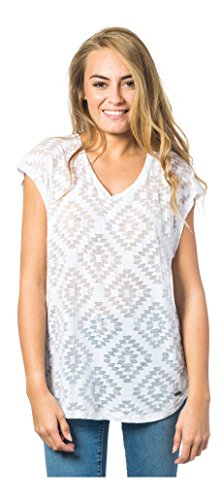 Rip Curl Damen Farallo Tee T-Shirt Optical White