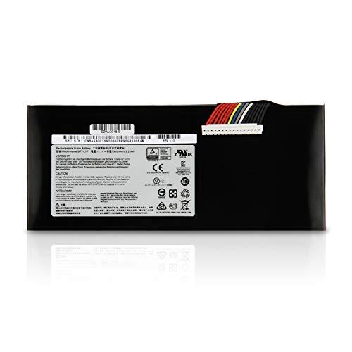 K KYUER 11.1V 83.25Wh BTY-L77 Laptop Akku für MSI GT72 2PC 2PE 2QD 2QE 2QW 6QD 6QE 6QF GT72S GT72VR 6RD 7RD 6RE 7RE MS-1781 MS-1782 1783 1785 WT72 2OM 6QI 6QK 6QL 6QM 6QN Notebook Battery