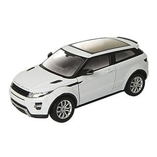alles-meine.de GmbH Land Rover Range Rover Evoque 3 Türer Weiss Ab 2011 ca 1/43 1/36-1/46 Welly Modell Auto