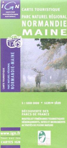 83305 PARC NATUREL REGIONAL NORMANDIE MAINE 1/100.000